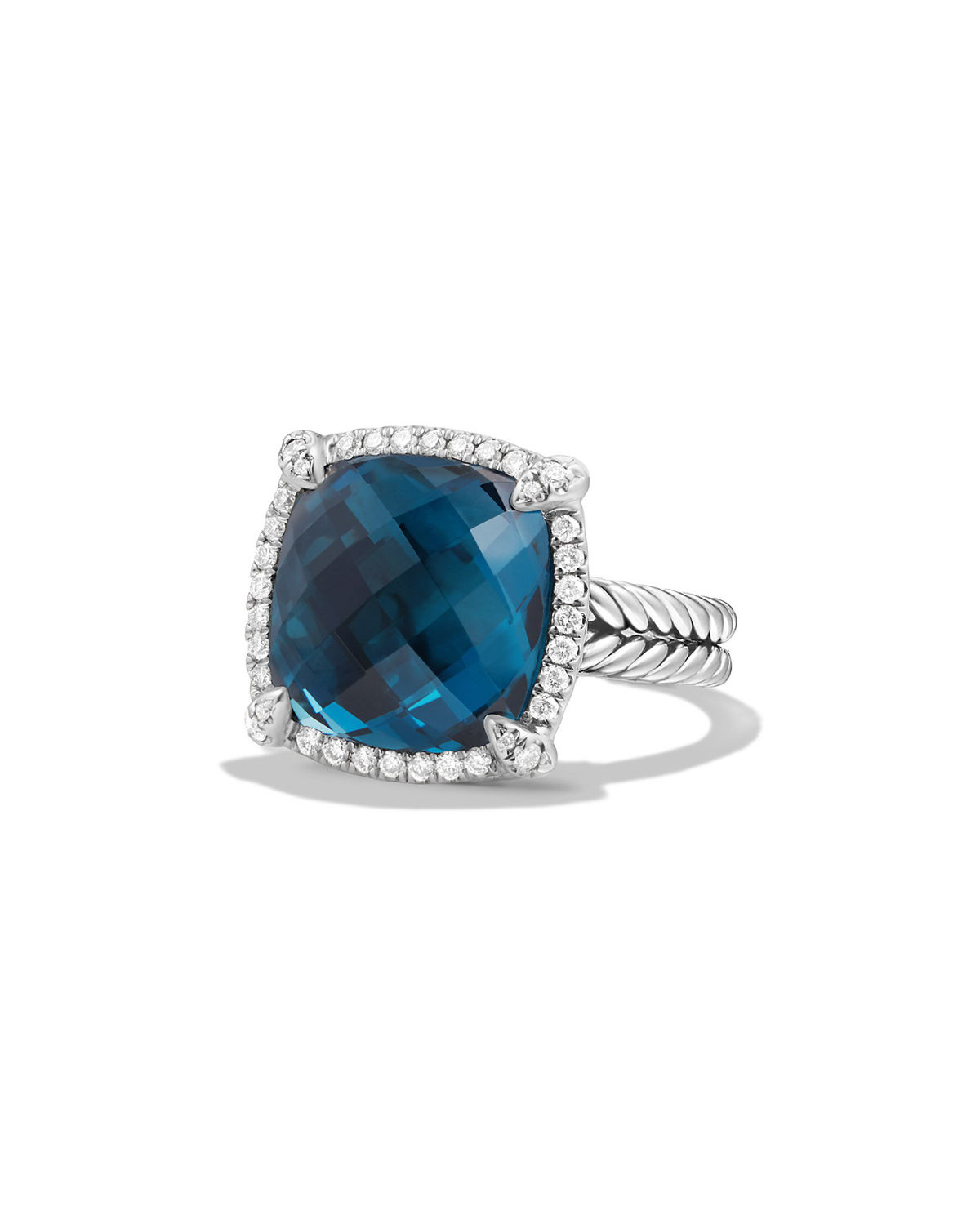 14mm Chatelaine Ring with Diamonds