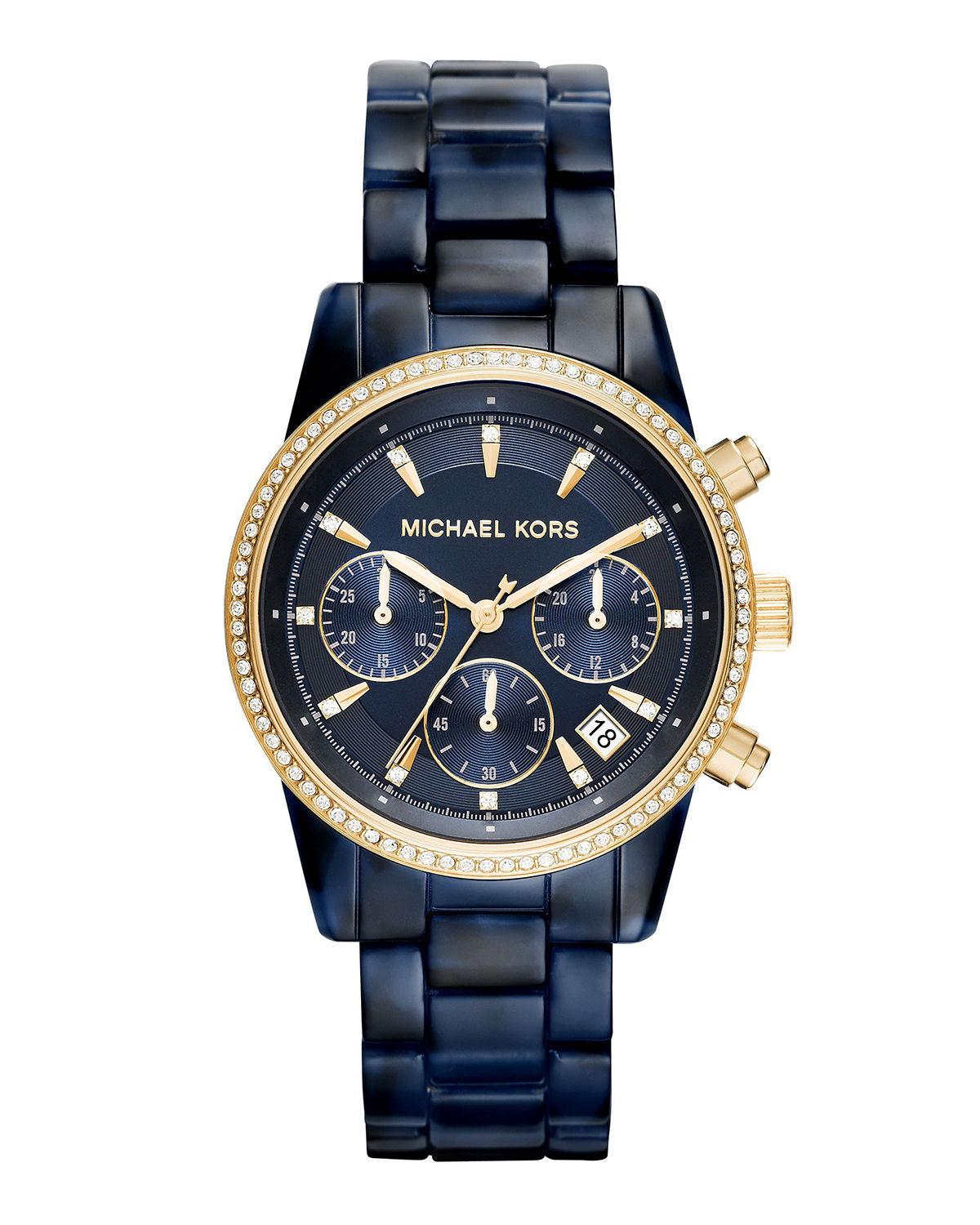Ritz 37mm Acetate Chronograph Watch