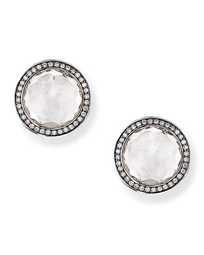 ba2ed5e5a Quick Look. Ippolita · Rock Candy Diamond Quartz Stud Earrings