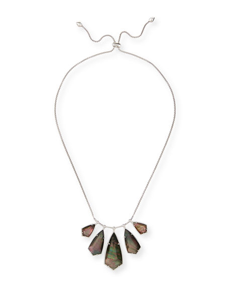 Kendra Scott Rhyan Pearlescent Bib Necklace, 32""