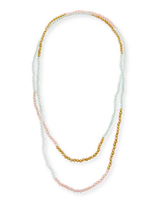 Masai Jet Beaded Necklace, 31