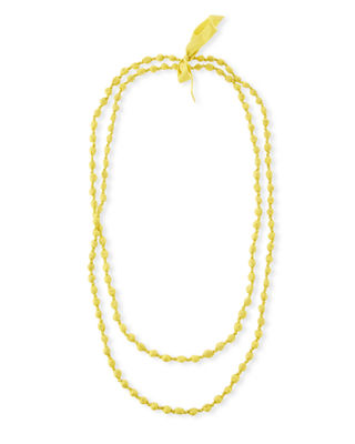 Eileen Fisher Bindu Silk Multi-Strand Necklace