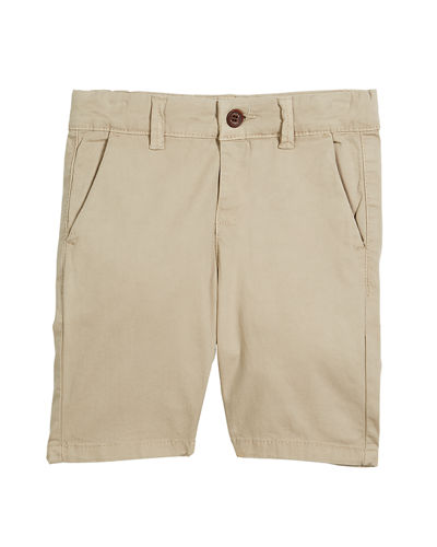 Stretch Chino Shorts, Size 3-7