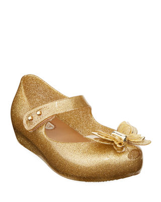 Mini Melissa Butterfly Mary Jane Flat, Toddler Sizes