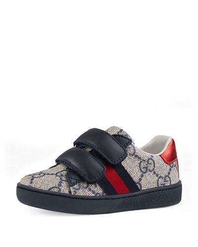 4792ce56dc Quick Look. Gucci · GG Supreme Print Sneaker, Toddler