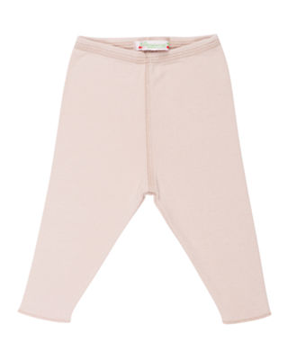 Bonpoint Solid Cotton Leggings, Size 3 Months-2T