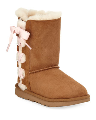 Image 1 of 4: Pala Bow Boot, Toddler Sizes 6-12
