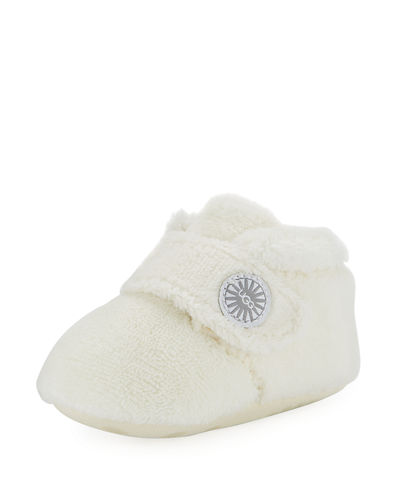 UGG Bixbee Terry Cloth Booties, Size 0-12 Months
