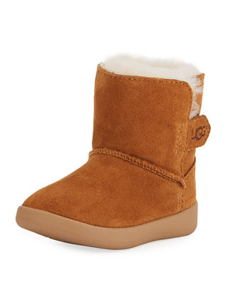Image 1 of 4: Keelan Suede Bootie, Infant Sizes 0-12 Months