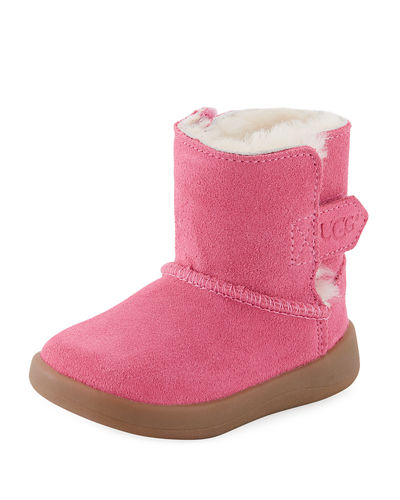 UGG Keelan Suede Bootie, Infant Sizes 0-12 Months