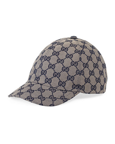 00f4a5606be Quick Look. Gucci · GG Supreme Canvas Baseball Hat. Available in Brown