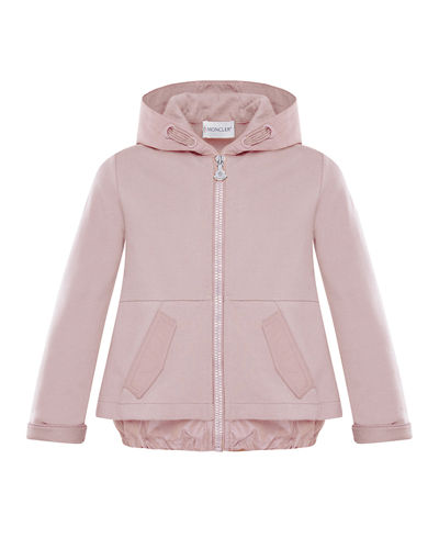 Hooded A-Line Zip-Up Cardigan, Size 8-14