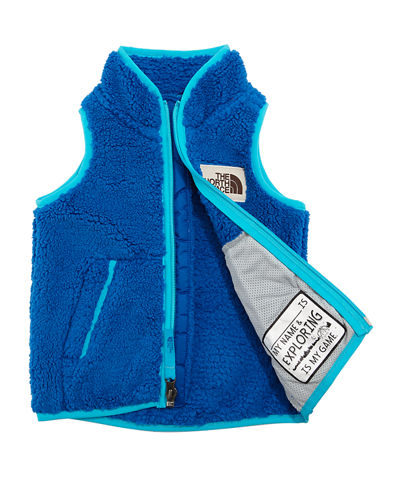 Campshire Sherpa Fleece Vest, Size 2-4T