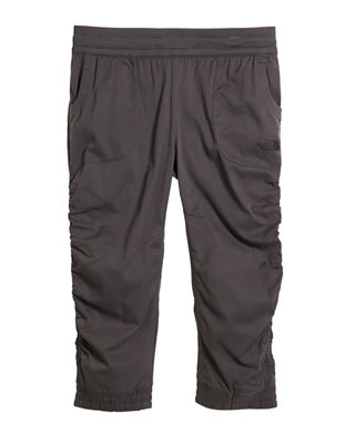 The North Face Aphrodite Ruched Lightweight Capris, Size