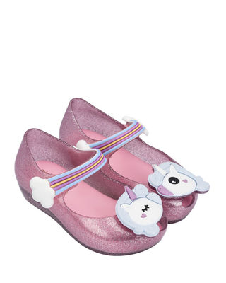 Mini Melissa Ultragirl Unicorn Mary Jane Flat, Toddler