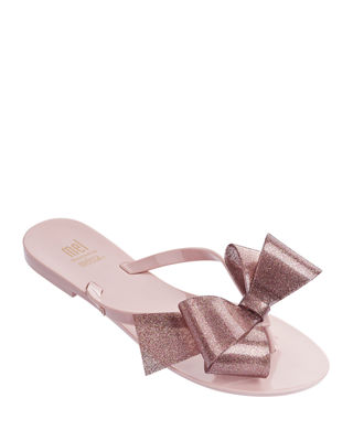 Image 1 of 2: Mel Harmonic Bow Thong Sandal, Kids