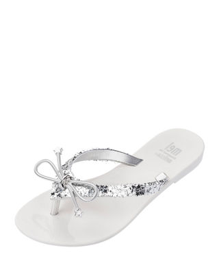 Image 1 of 5: Mel Harmonic Elements Star Thong Sandal, Kids