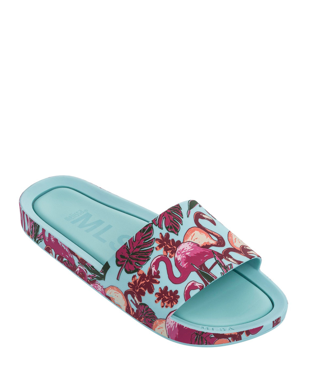 Mel Beach Slide Flamingo Sandal Kids