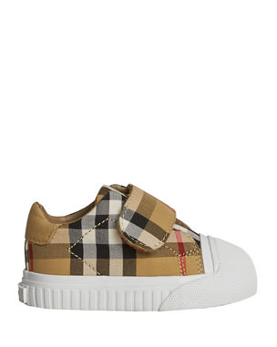 0f3143c96af8 Burberry Beech Check Sneakers with White Sole