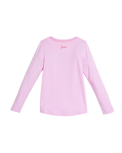 Reversible Sequin Long-Sleeve Tee, Size 3-10