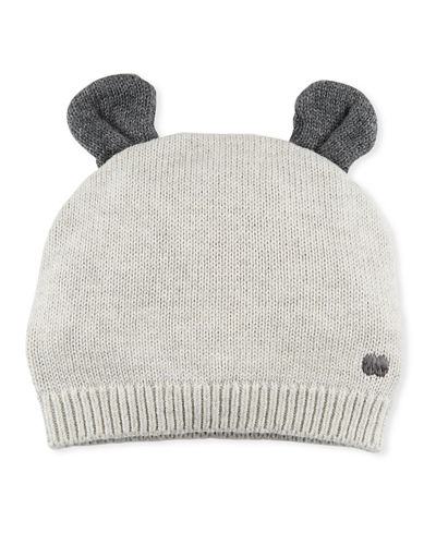 Knit Baby Hat w/ Ears