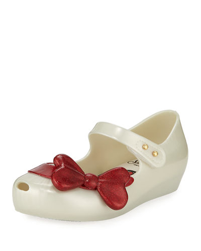 Ultragirl + Snow White Mary Jane Flats, Toddler