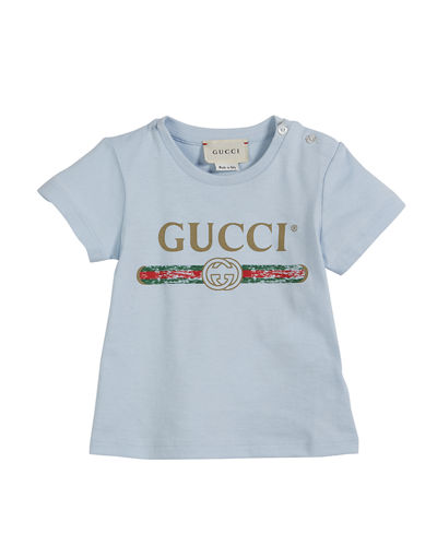 Short-Sleeve Vintage Logo Tee, Size 3-36 Months