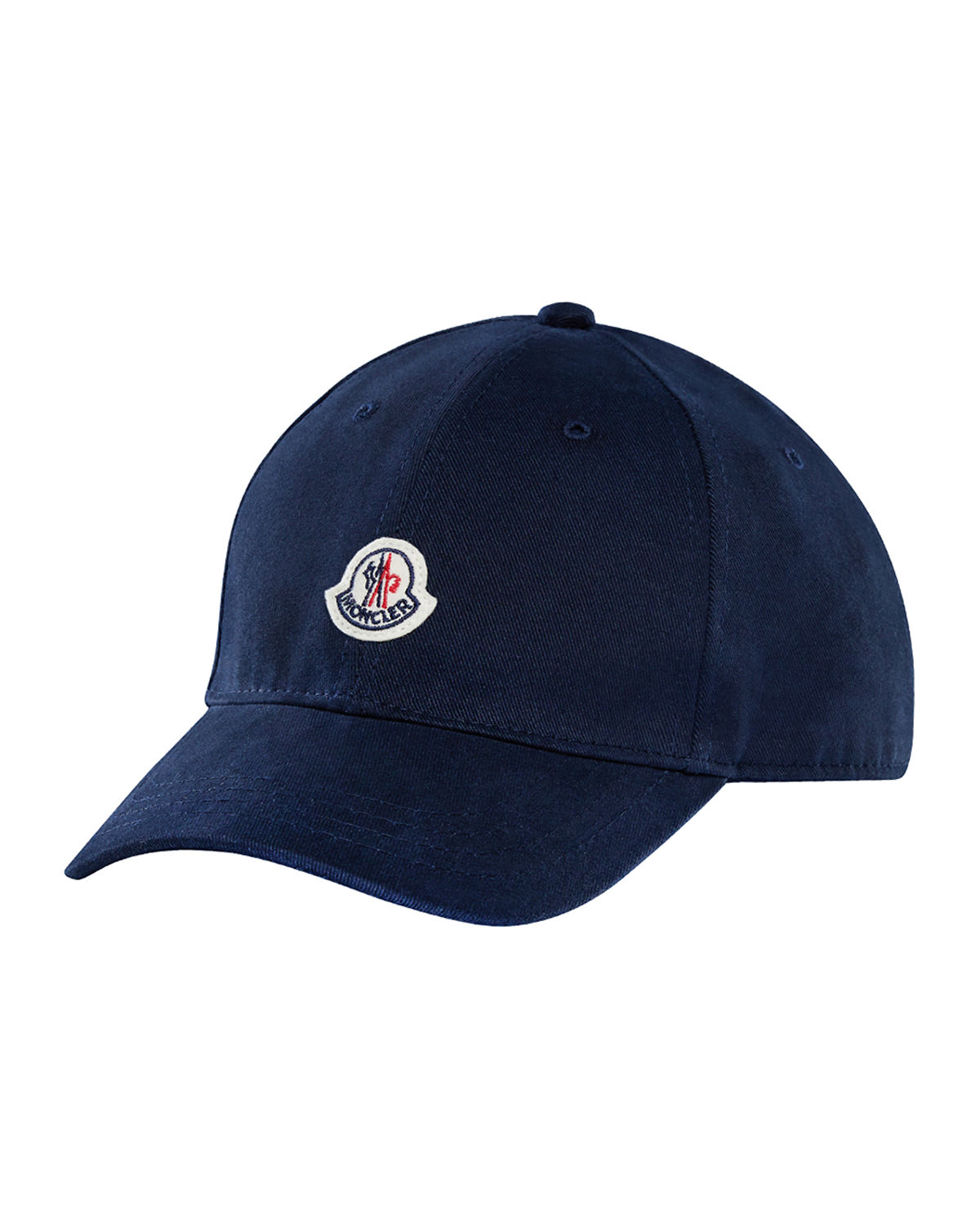 Moncler Kids  Logo Patch Baseball Cap  80df7f782956