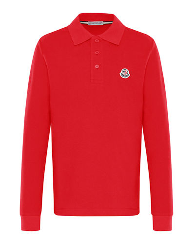 fbecf8803 Moncler Red Polo Shirt