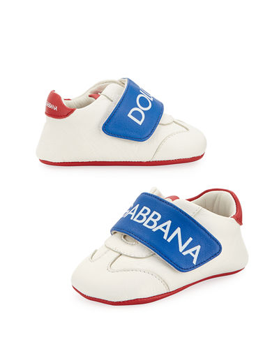 Classic Logo Leather Sneakers  Baby/Toddler