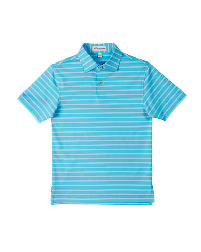Stretch Jersey Market Stripe Polo  Size XS-XL