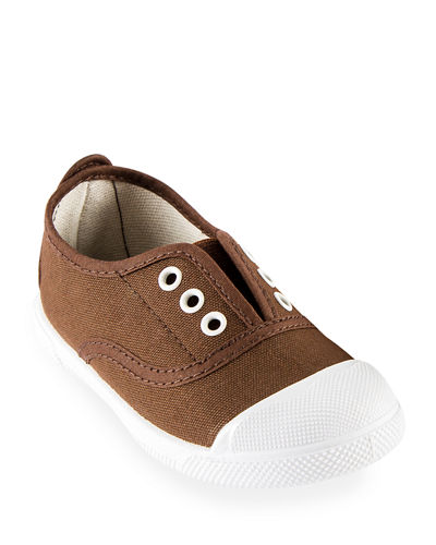Cotton Canvas Cap Toe Sneaker, Toddler/Kids