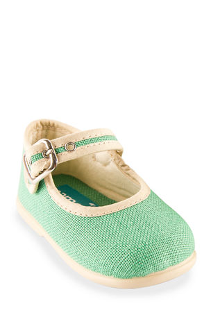 Namoo linen Buckle Mary Jane, Toddler/Kids