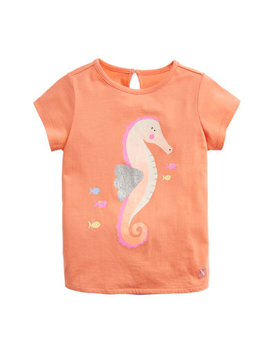 Pixie Striped Be A Unicorn Tee, Size 2-6