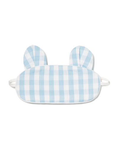 Kids' Bear-y Sweet Gingham Eye Mask