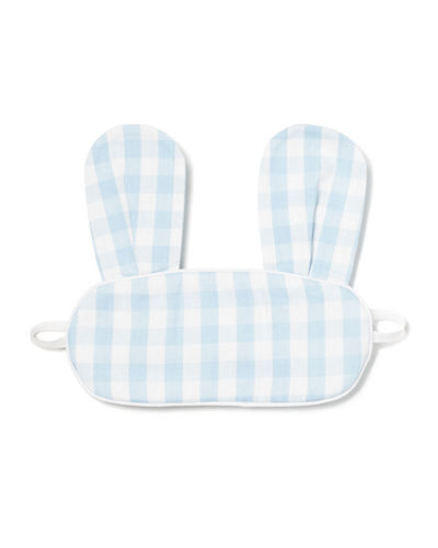 Kids' Bunny Gingham Eye Mask