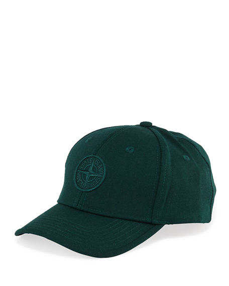Stone Island Kid's Logo Embroidered Baseball Cap