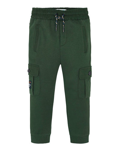 Boy's Cargo Sweatpants, Size 4-8