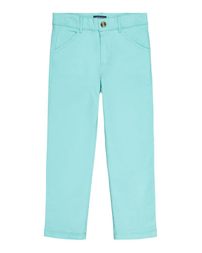 Straight-Leg Twill Pants  Size 8-14