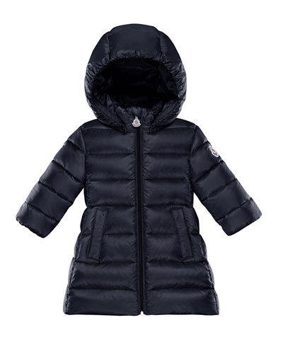 Majeure Long Hooded Puffer Coat, Size 12M-3