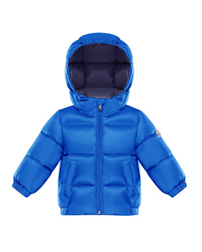 New Macaire Hooded Puffer Coat, Size 12M-3