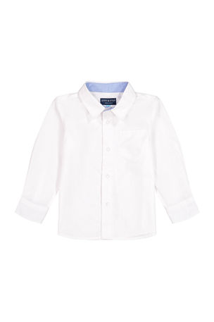 Andy & Evan Boy's Cotton Button-Down Shirt, Size 2-14