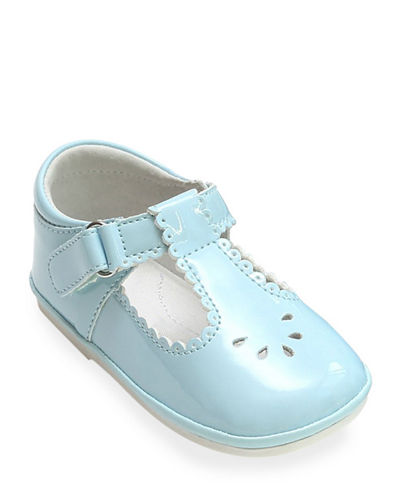 high rise Slipper with Heart detail and foot strap Toddler Girl Rubber sole