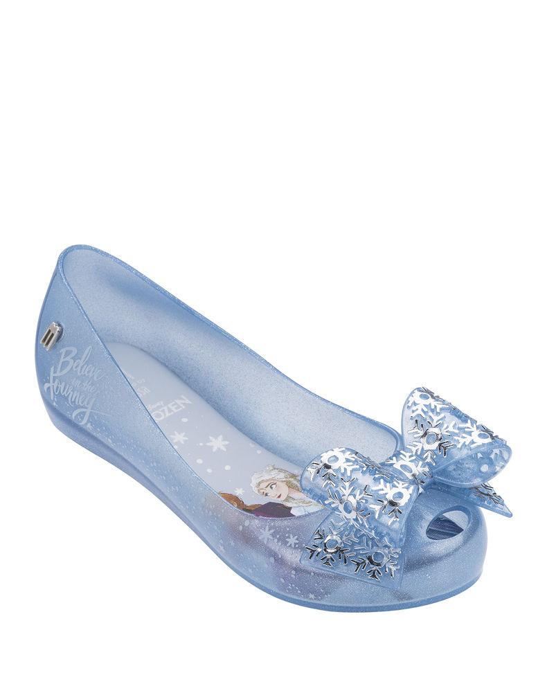 Mini Melissa Ultragirl Frozen 2 Ballet Flats, Toddler/Kids