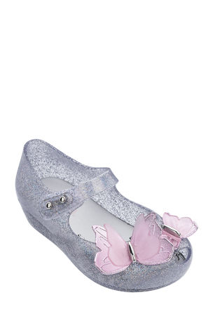 Mini Melissa Ultragirl Fly III Mary Jane Flats, Baby/Toddler