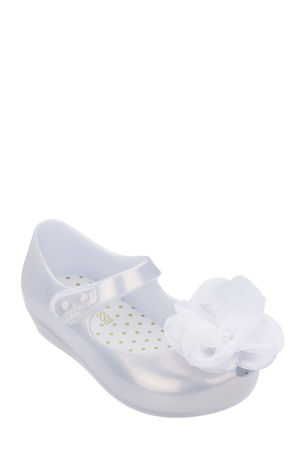 Mini Melissa Ultragirl Chic Tulle Flower Mary Jane, Baby/Toddler