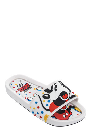 Mini Melissa Mel Mickey Slides, Baby/Kid