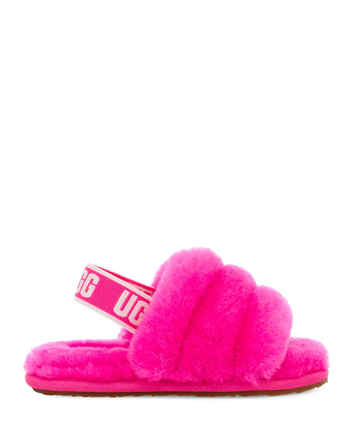 Ugg FLUFF YEAH SHEARLING SLIDES, BABY/TODDLERS