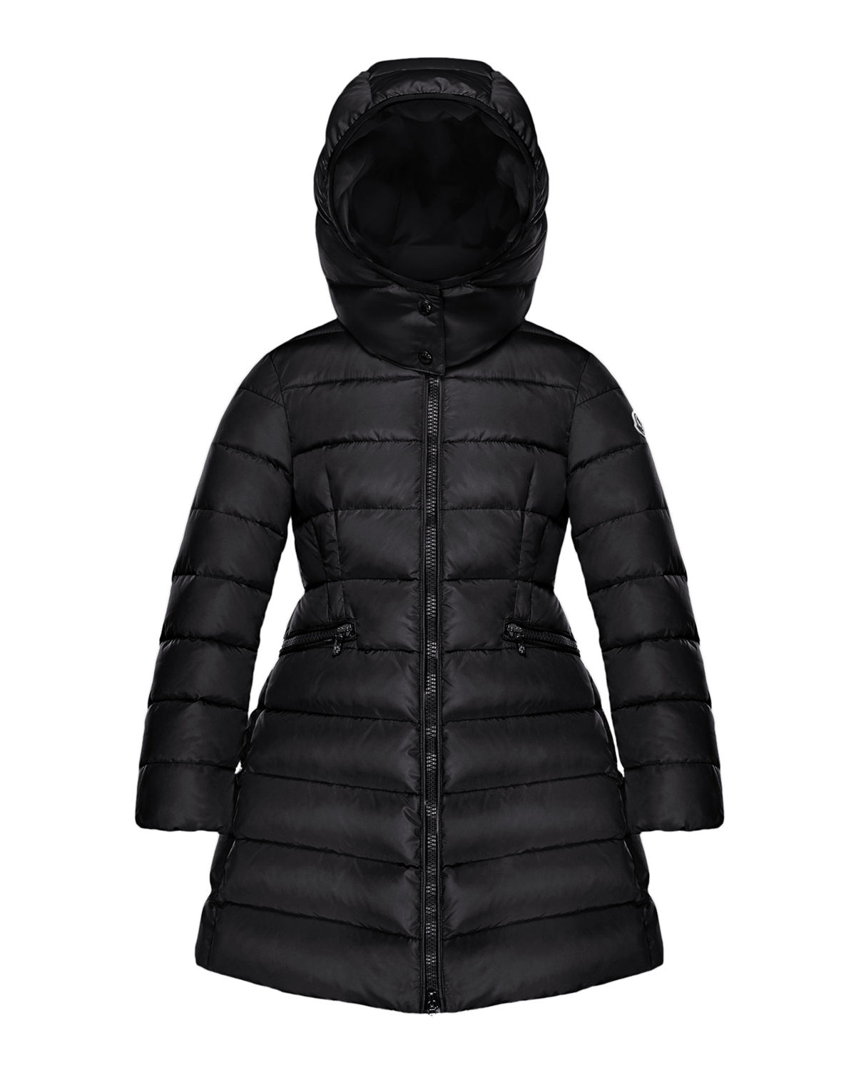 Moncler CHARPAL LONG PUFFER COAT WITH DETACHABLE HOOD