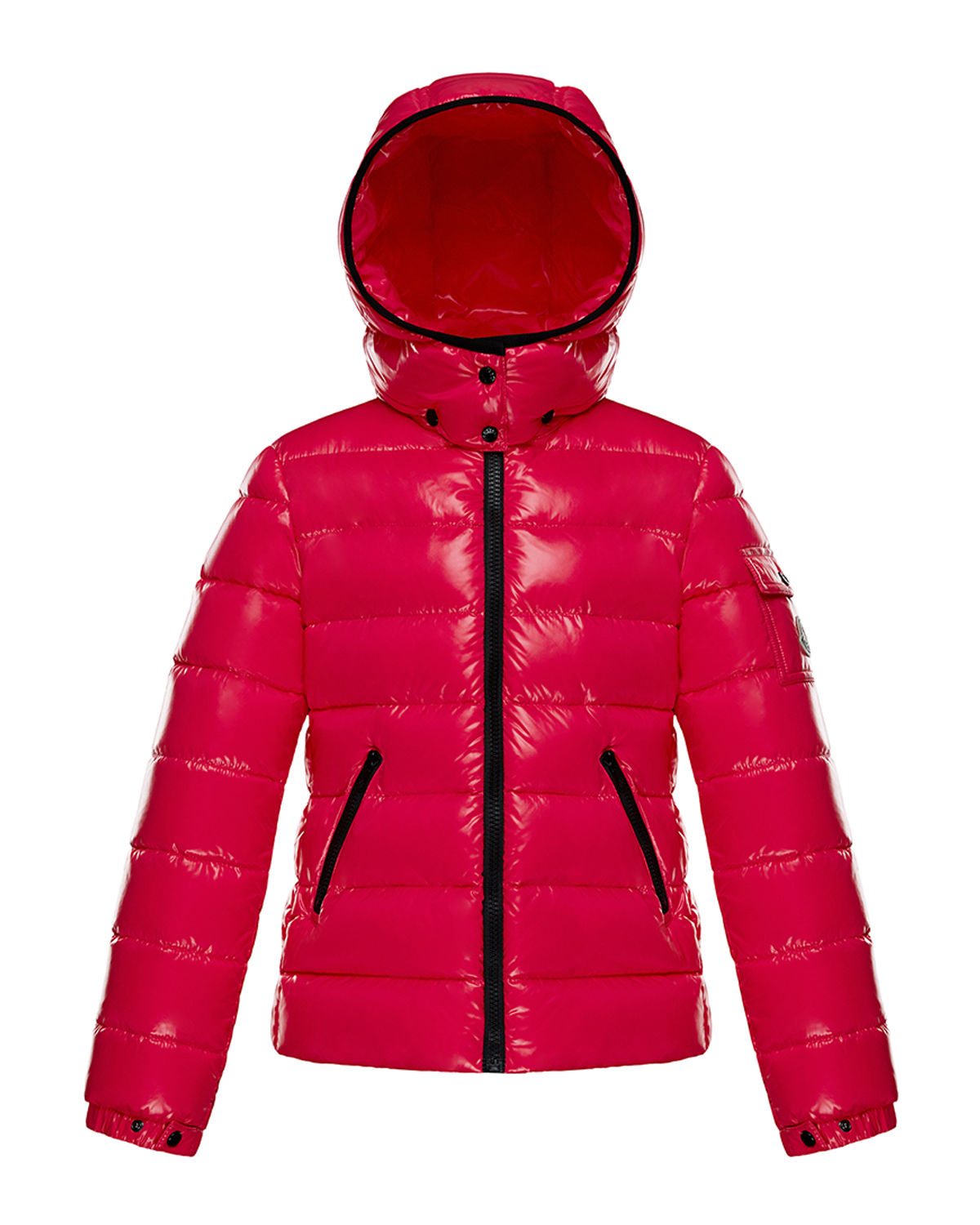 Moncler BADY LAQUE QUILTED HOODED PUFFER JACKET